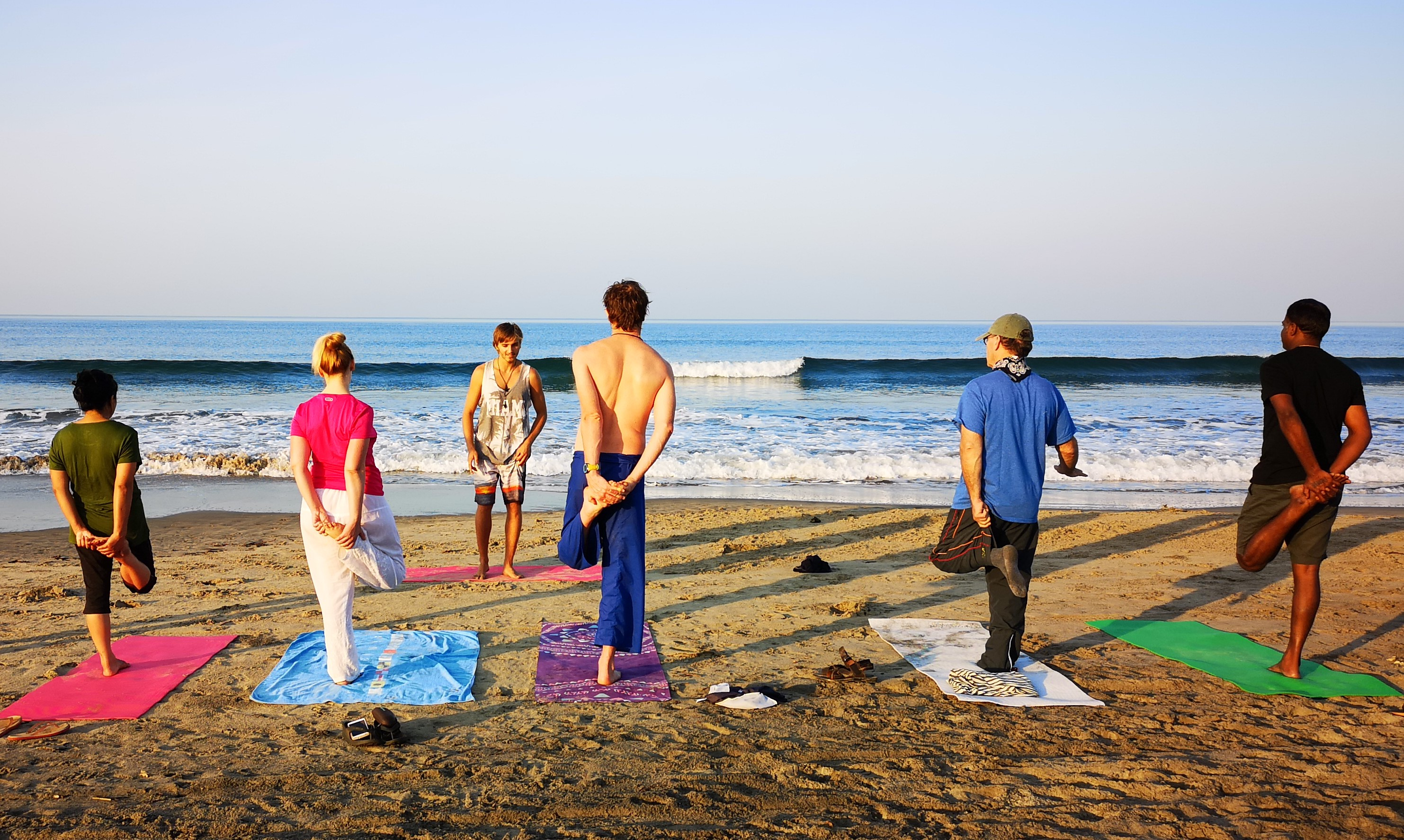 Goa Beach Morning Yoga